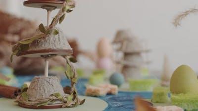 Handmade Tower Miniature