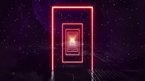 Neon Rechteck