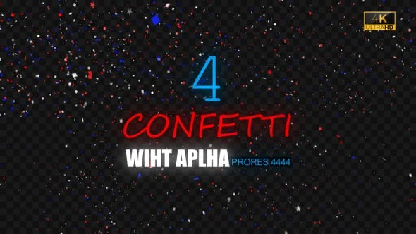 Thumbnail for Confetti 4K 4 Pack
