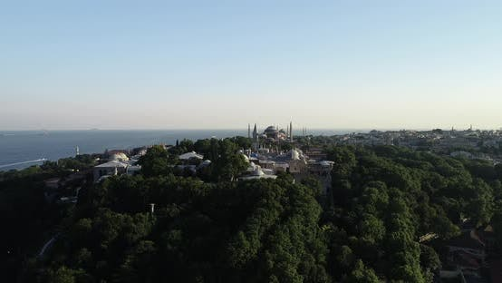 Thumbnail for Istanbul Topkapi Palace And Historical Peninsula Aerial View 2
