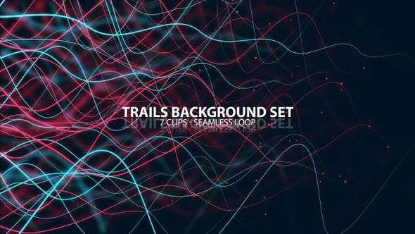 Thumbnail for Trails Background Set