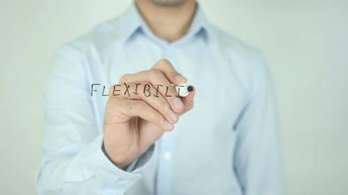 Flexibility, Writing On Screen
