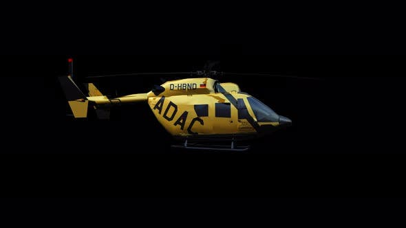 Thumbnail for 4K ADAC Rescue Helicopter
