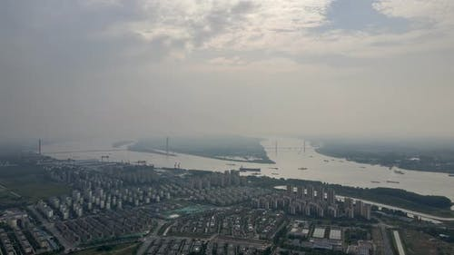 The Changjiang River, Jiangsu