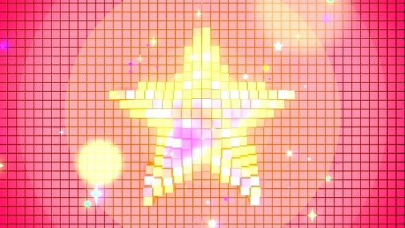 Vj Pixel Star