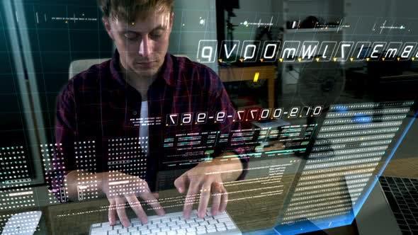 Cyber Crime Computer Hacker