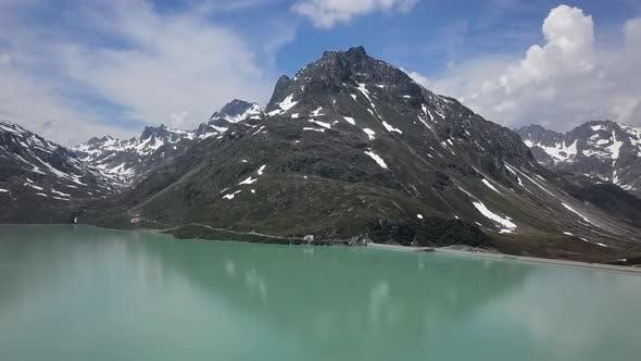 Thumbnail for Aerial of Silvretta Stausee Lake, Austria