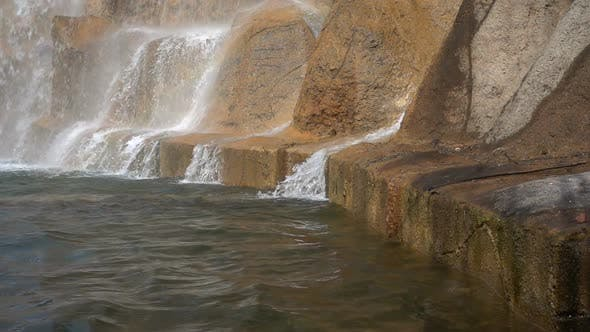 Thumbnail for Waterfall To Pool and Rocks