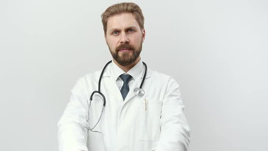 Thumbnail for Medical Doctor in White Lab with Handcuffs