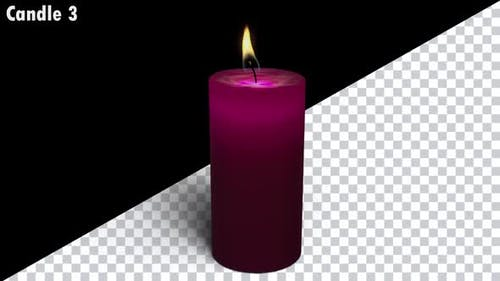 Looping Candles Pack