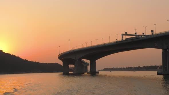 Thumbnail for Hong Kong - Macau Bridge at Sunset