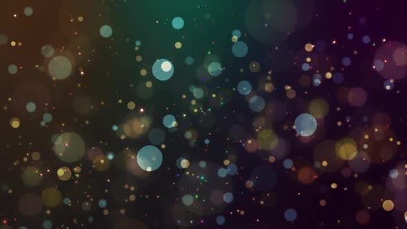 Celebration Particles Loop