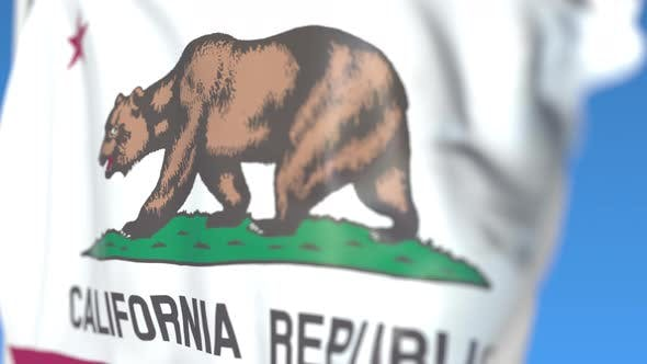 Thumbnail for Waving Flag of California