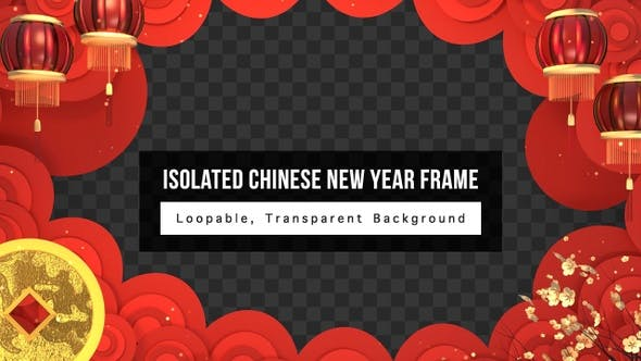 Thumbnail for Isolated Chinese New Year Frame