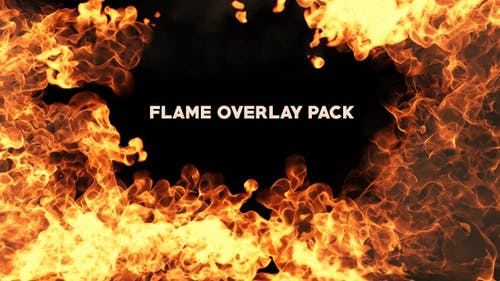Flame Overlay Pack