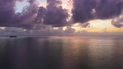 Sea and Clouds at Sunrise