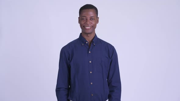 Thumbnail for Young Happy African Businessman Smiling