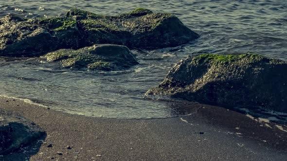 Thumbnail for Timelapse of a beach in Shekvetili. Georgia