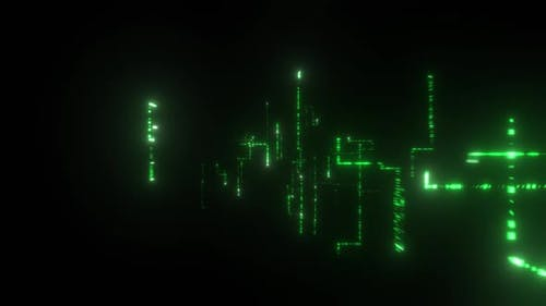 Flying through a Digital Matrix
