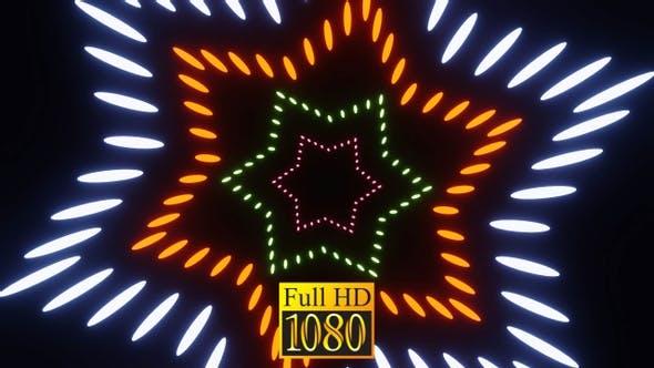 Vj Loop Star Flug 01 HD