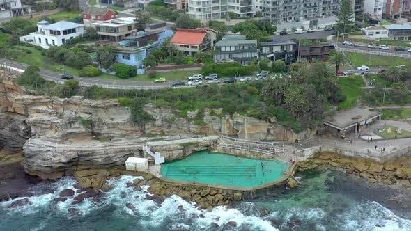 Thumbnail for Salt Water Swimming Pool in Australia Bronte Beach