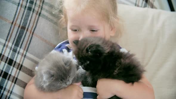 Cover Image for Happy with My Kittens