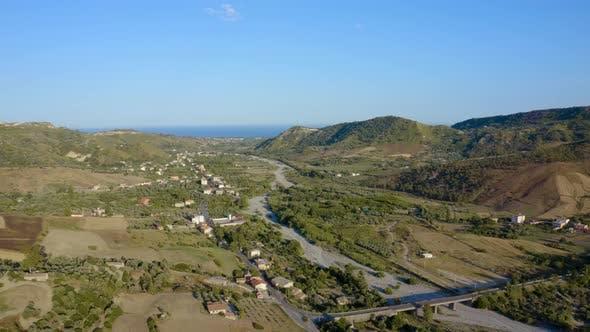 Calabria Hill near the Sea