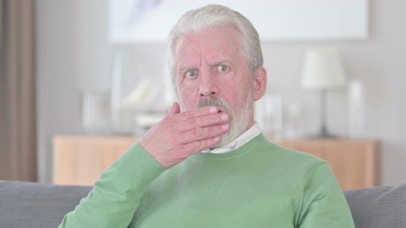Thumbnail for Shocked Old Man Wondering in Awe