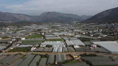 Aerial View Farming