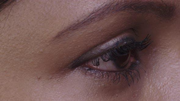 Thumbnail for Female Eye Movements Side