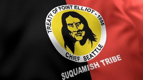 Thumbnail for Suquamish Tribe Flag