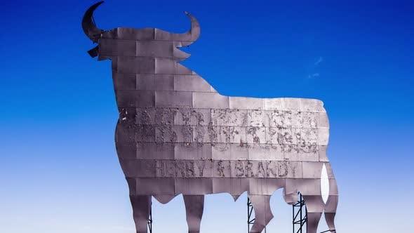 Thumbnail for spain bull icon roadside symbol animal spanish