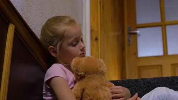 Thumbnail for Sad Girl And Teddy Bear