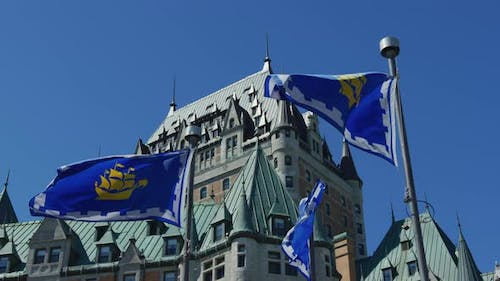 Flags of Quebec City