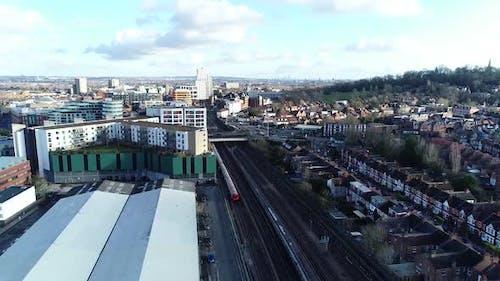 Aerial Urban City