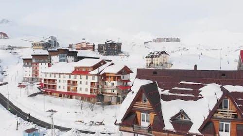 Real Estate Buildings In Ski Resort Gudauri, Georgia
