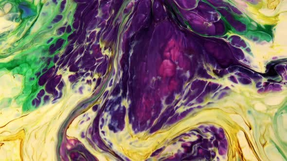 Thumbnail for Psychedelic Colour Paint  Spreading Swirling 90