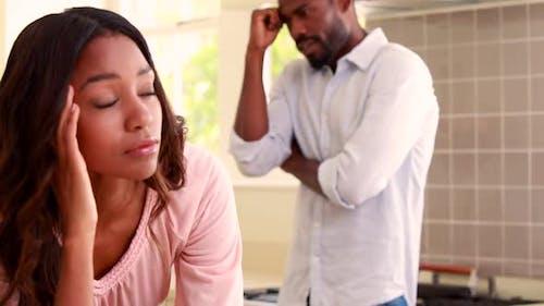 Quarrelling in a Couple