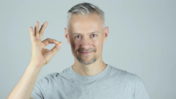 Thumbnail for Man Showing Ok Sign