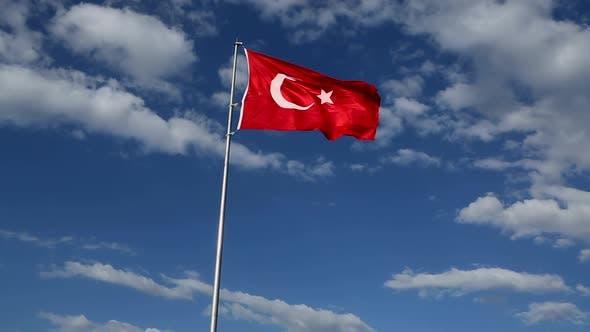 Turkish Flag Symbol