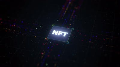 Crypto Art and NFT concept