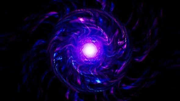 Energy Wave Neon Background Loop 4K