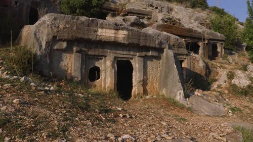 The Ruins of the Tombs of Ancient Civilization