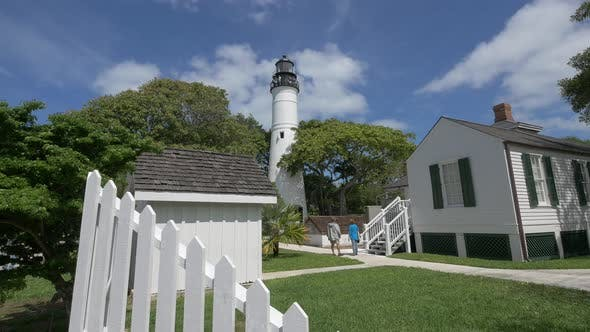 Thumbnail for Lighthouse in a courtyard