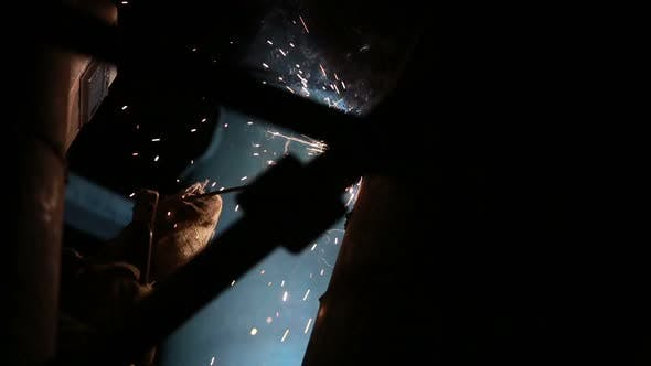 Thumbnail for Welding Sparks on Production