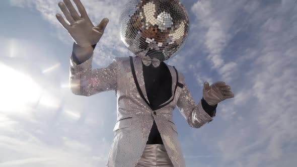 Thumbnail for disco mr discoball party music club entertainment sky