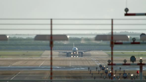 Thumbnail for Airplane Approaching and Landing