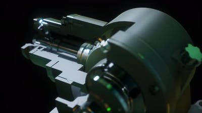 Metal Closeup Gear Box