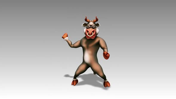 Happy Bull - Cartoon Dance 10