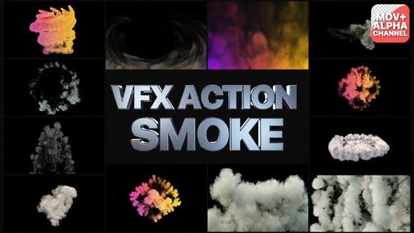 VFX Action Smoke   Motion Graphics